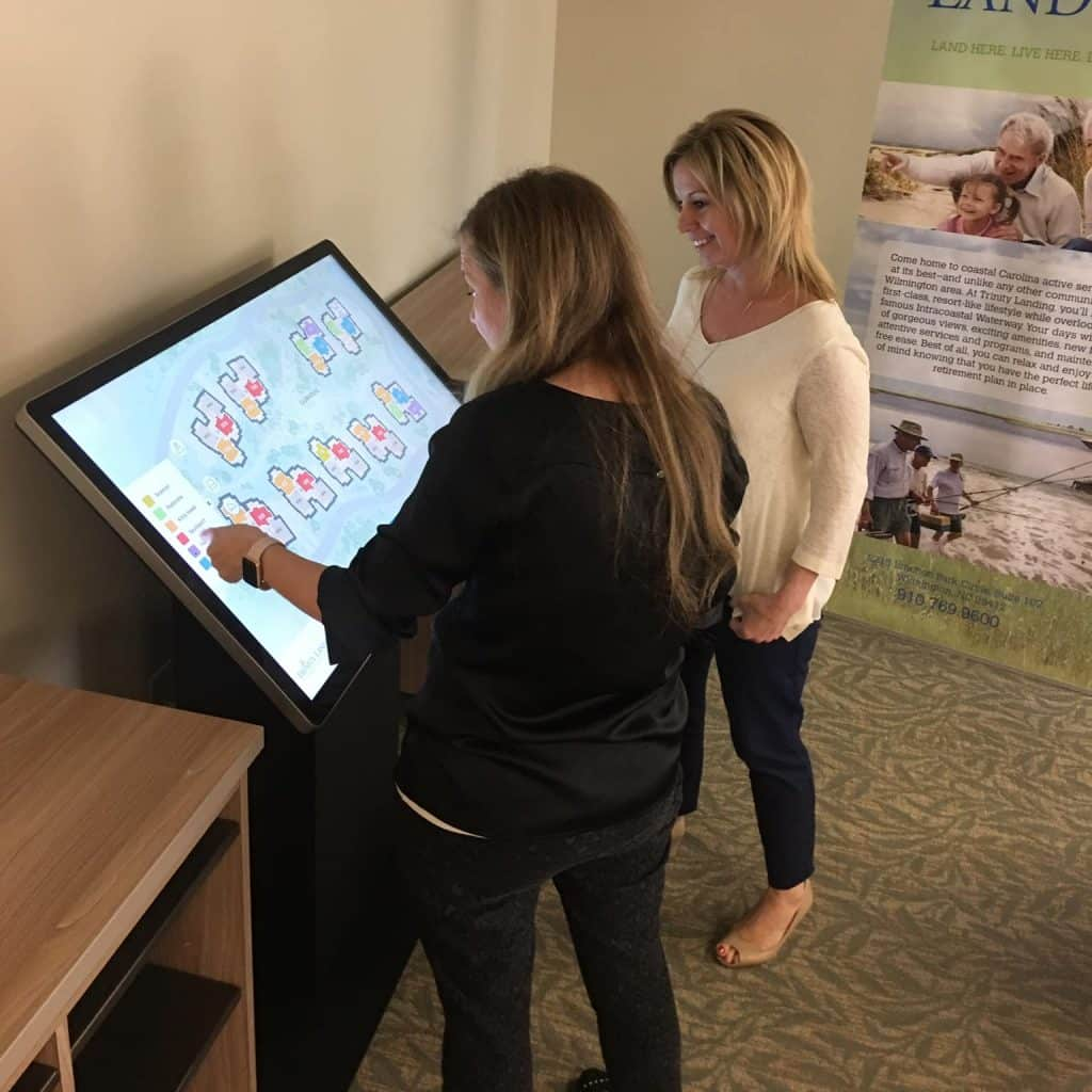 Ann Pressly and Candy Hayes explore the Trinity Landing Residences