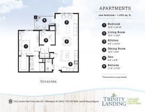 Ocracoke apartment home at Trinity Landing