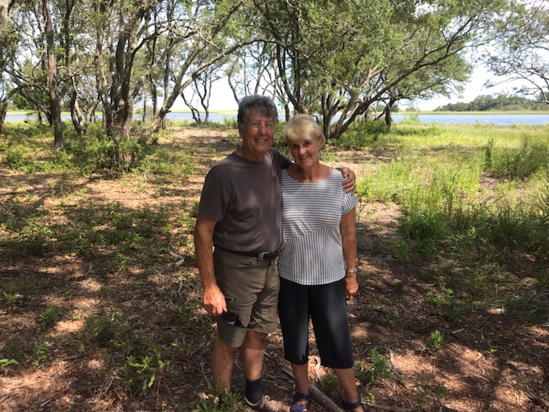 Clancy and Sue joined the Trinity Landing Founder's Club because they wanted to create something new at this soon-to-be-built community.