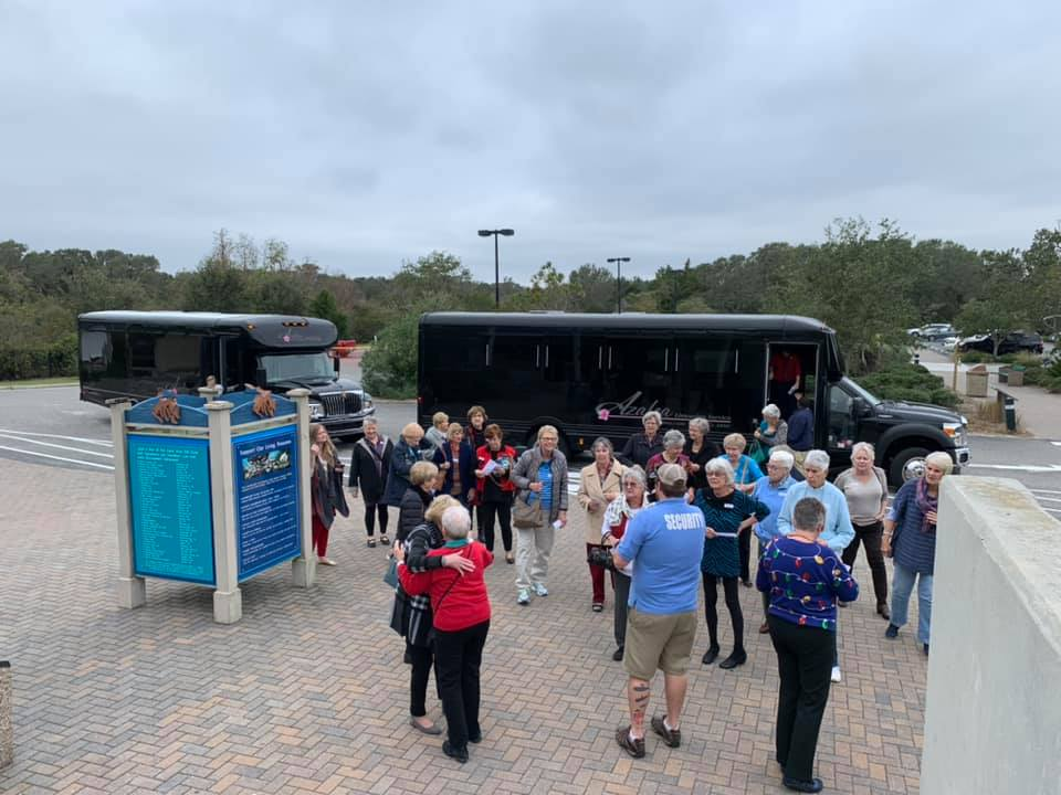 Trinity Landing depositors arrive at Fort Fisher