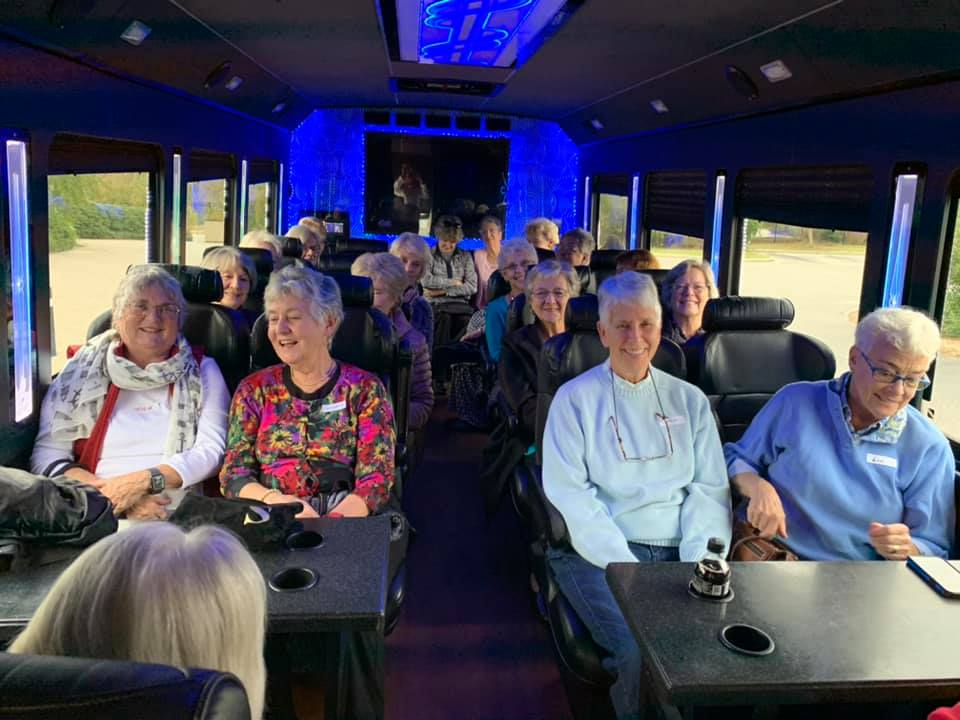 Trinity Landing depositors riding in style to Fort Fisher