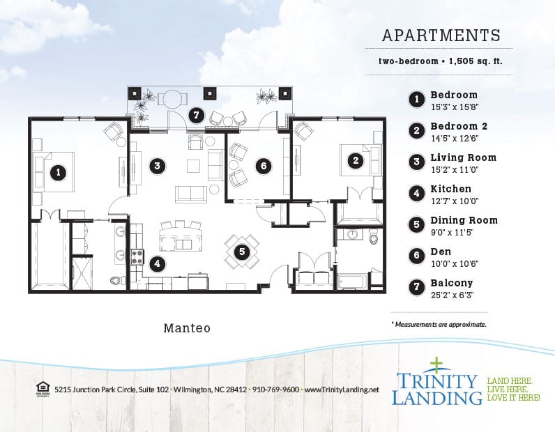 The Manteo, one of the popular floor plans at Trinity Landing