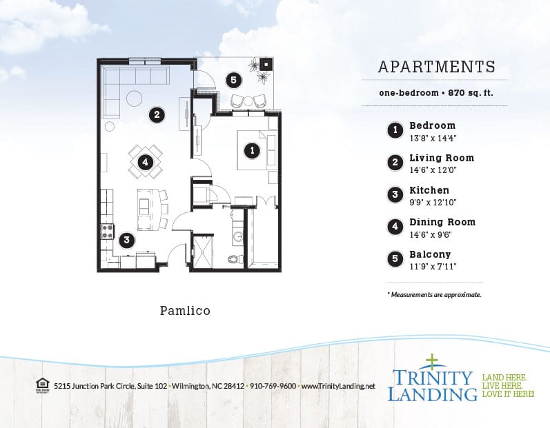 The Pamlico, one of the popular floor plans at Trinity Landing
