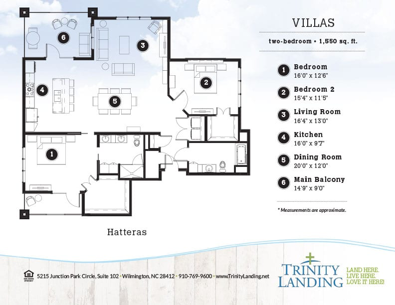 The Hatteras, one of the popular floor plans at Trinity Landing