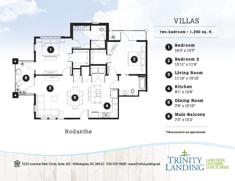 The Rodanthe, one of the popular floor plans at Trinity Landing