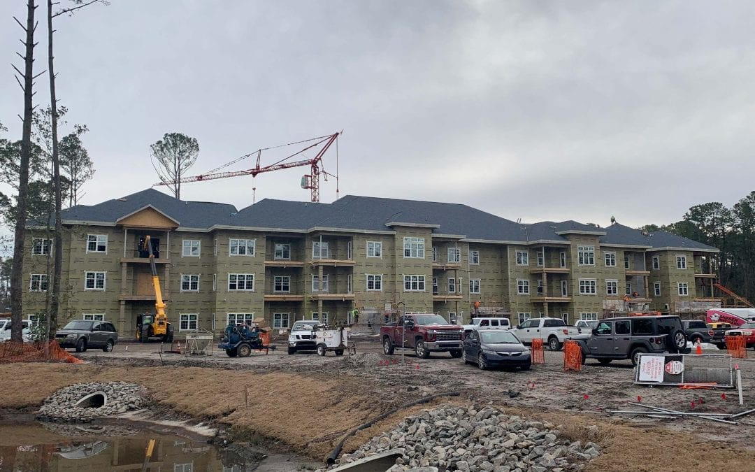 Moving Right Along! Construction Continues at Trinity Landing