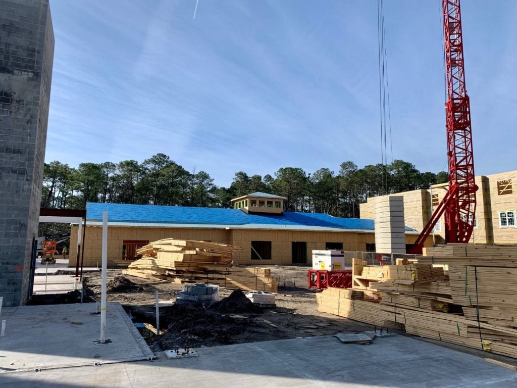 Trinity Landing construction