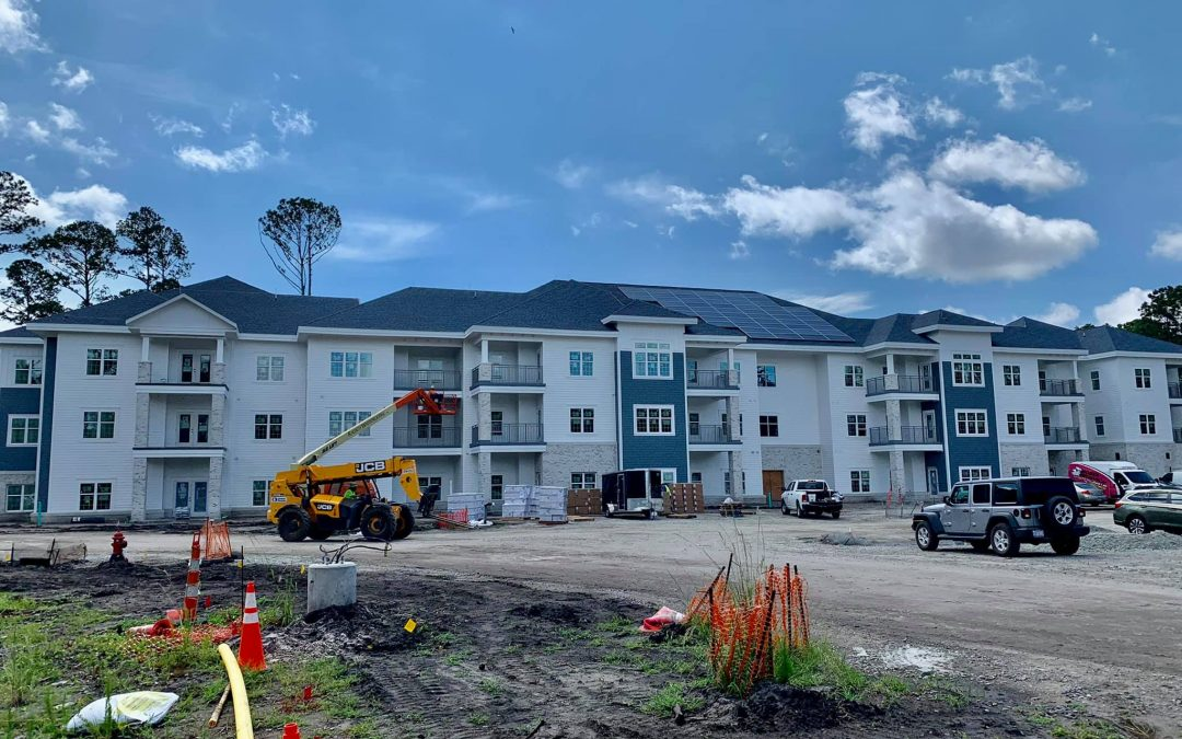 trinity landing construction july 2021
